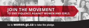 Take the pledge to #EndViolence against women and girls