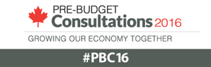 Growing our Economy Together – Pre-Budget Consultations 2016. Have your say!