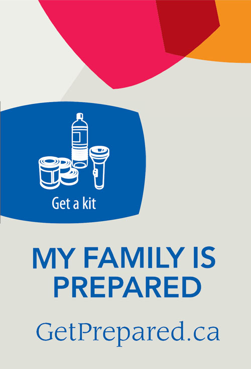 My family is prepared - Get a kit